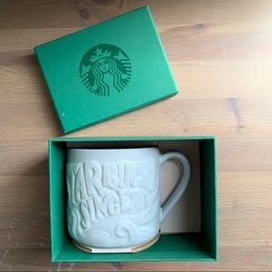 "Starbucks Anniversary Siren ""Starbucks Since 71"""